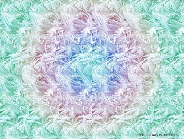 3-D Stereograms - Frost Spiral