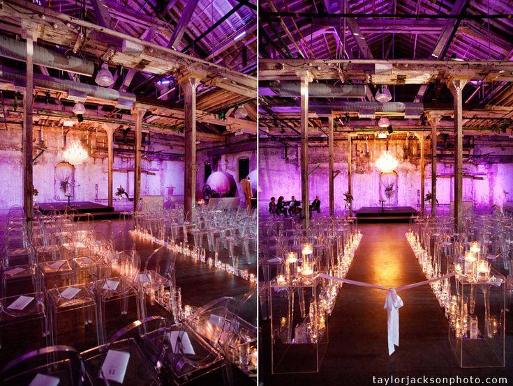 Lighting helps to define your atmosphere.  Look how beautiful!