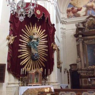 St Pölten, Austria - Prandtauerkirche, Maria, Queen of the Heavens