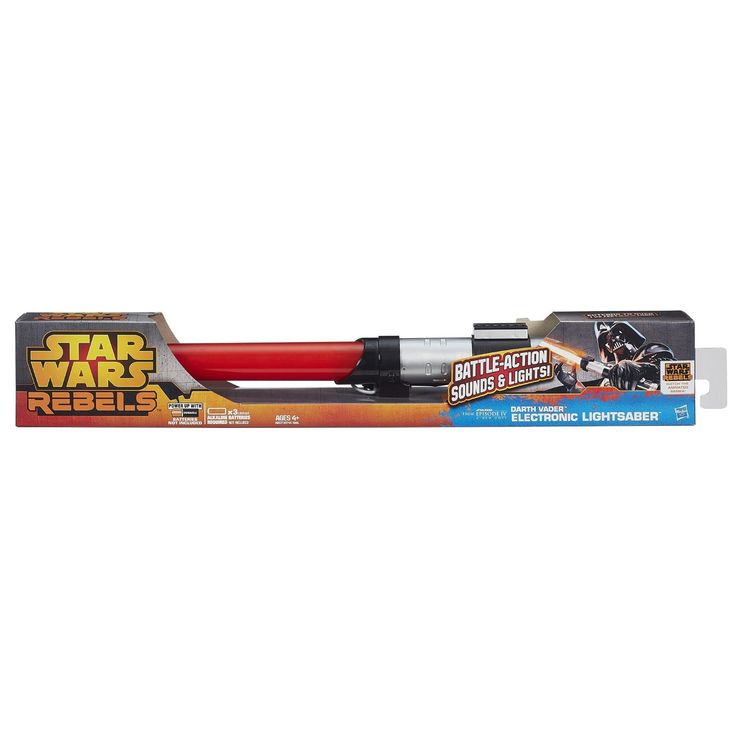 Star Wars Rebels Darth Vader Electronic Lightsaber Toy - $37.95