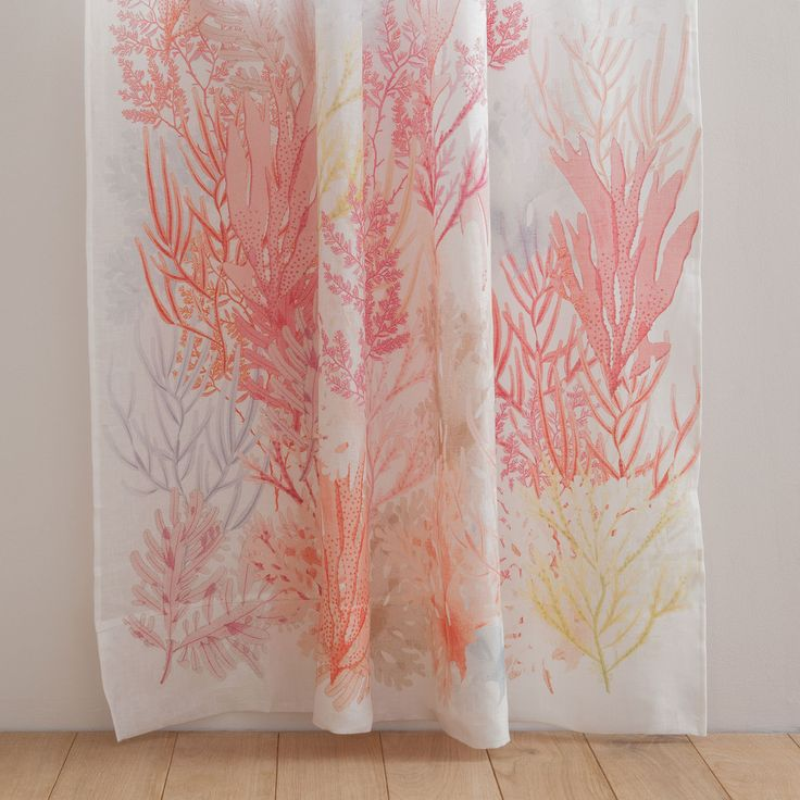 6999EUR Seaweed Printed Curtain