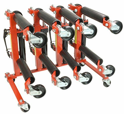 "(4) 1500lb 12"" Wide Hydraulic Car Wheel Dolly Jack and Wheel Dolly and Storage Stand - http://www.caraccessoriesonlinemarket.com/4-1500lb-12-wide-hydraulic-car-wheel-dolly-jack-and-wheel-dolly-and-storage-stand/ #1500Lb, #Dolly, #Hydraulic, #Jack, #Stand, #Storage, #Wheel, #Wide #Car-Wheels, #Tires-Wheels"