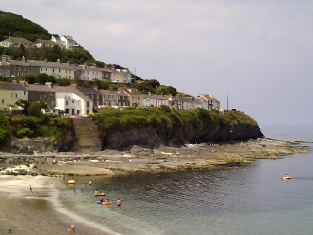 New Quay - Wales.  My favourite holiday place.
