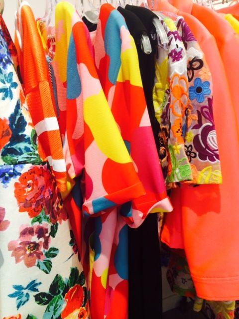 Racks of Summer Colour