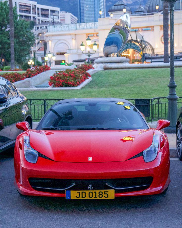 Ferrari 458 in Monaco Ferrari 458, Ferrari, Monaco