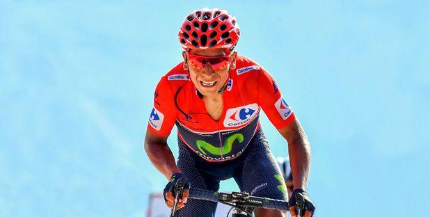 A Catlike lançou uma edição limitada do seu capacete Minxino, para celebrar a vitória de Nairo Quintana, na Volta a Espanha