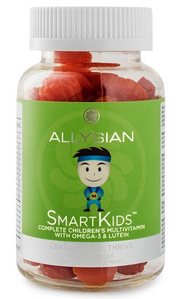 No animal based gelatin is used in SMARTKIDS - Allysian Sciences - REDEFINE POSSIBLE.™