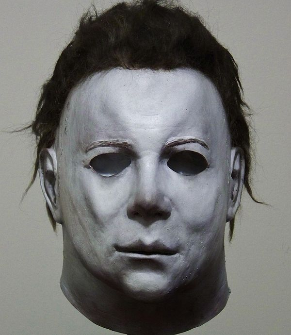michael myers mask in halloween is just a captain kirk mask altered slightly and painted white - Halloween Myers Mask