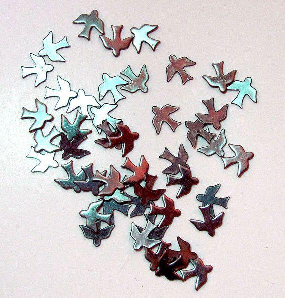 Tiny Soaring Bird Findings by ladykjewels on Etsy, $3.50