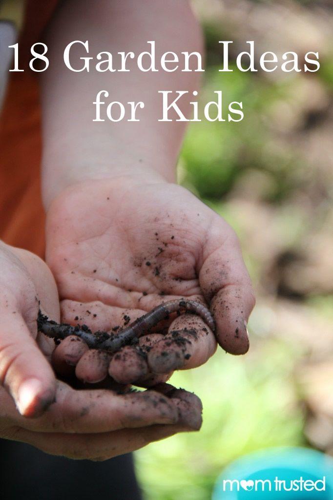 18 garden ideas for kids