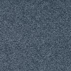 Carpet Sample - Lavish II - Color Ocean Breeze Texture 8 in. x 8 in., Blues