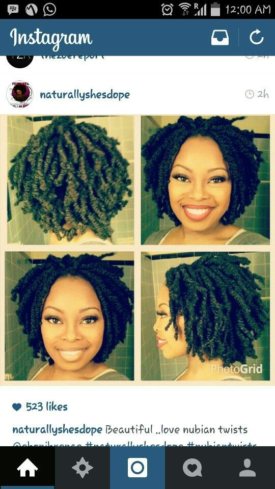 204 Best Twist Extensions Images On Pinterest Braid Hair Natural