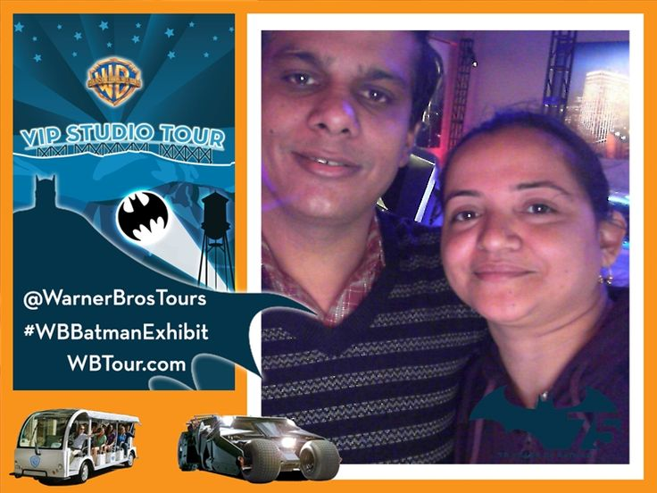 Check in as a VIP to Warner Bros Studio Tour! Follow my tour at #wbtour and visit WWW.wbtour.com