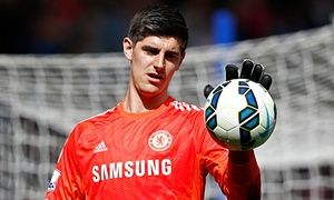 Chelsea's Thibaut Courtois could be out until Christmas with knee injury - http://footballersfanpage.co.uk/chelseas-thibaut-courtois-could-be-out-until-christmas-with-knee-injury/