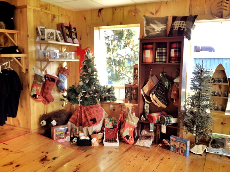 Christmas decor available at the Net Shed