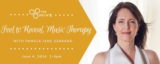 Feel to Reveal, Music Therapy with Pamela Jane Gerrand #AYRFCIDurhamRegion #DurhamRegion #DurhamRegionEvents #DurhamRegionEvent https://www.facebook.com/events/1025310447517008/