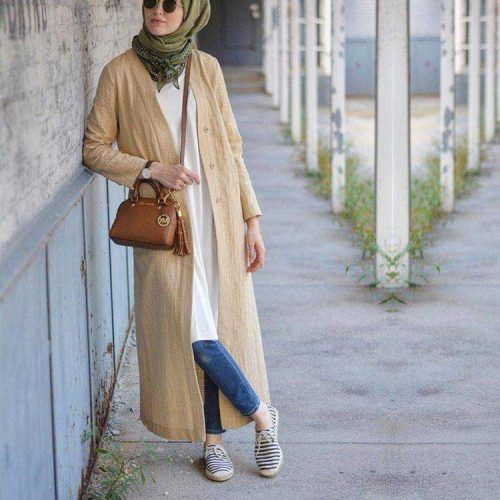 long-beige-cardigan-sporty-hijab More