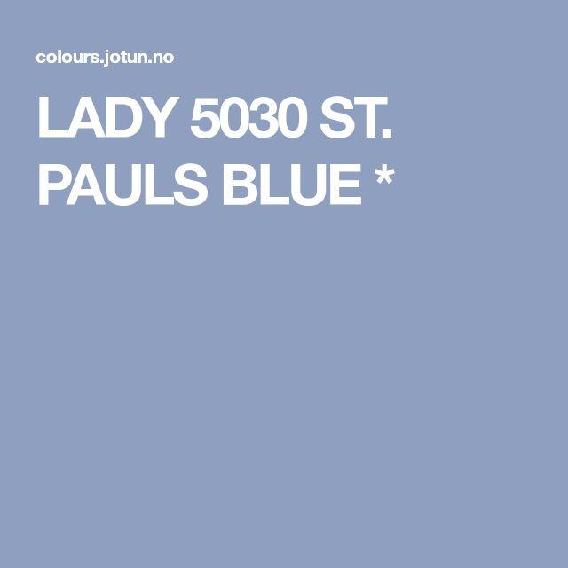 LADY 5030 ST. PAULS BLUE *