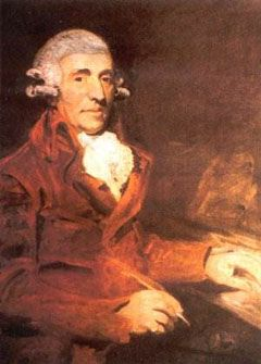 Franz Joseph Haydn, Austrian composer.  He wrote 104 symphonies and was a teacher of Beethoven.