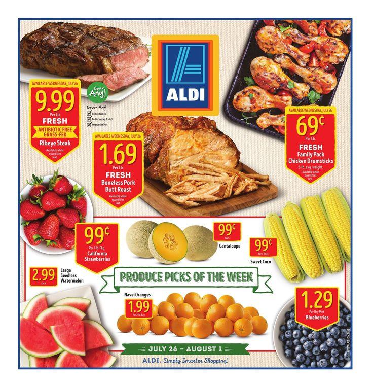 Aldi Weekly Ad July 26 - August 1, 2017 - http://www.olcatalog.com/grocery/aldi-ad.html