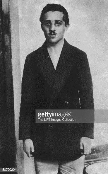 Serbian student Gavrilo Princip who assassinated Archduke Francis... News Photo | Getty Images