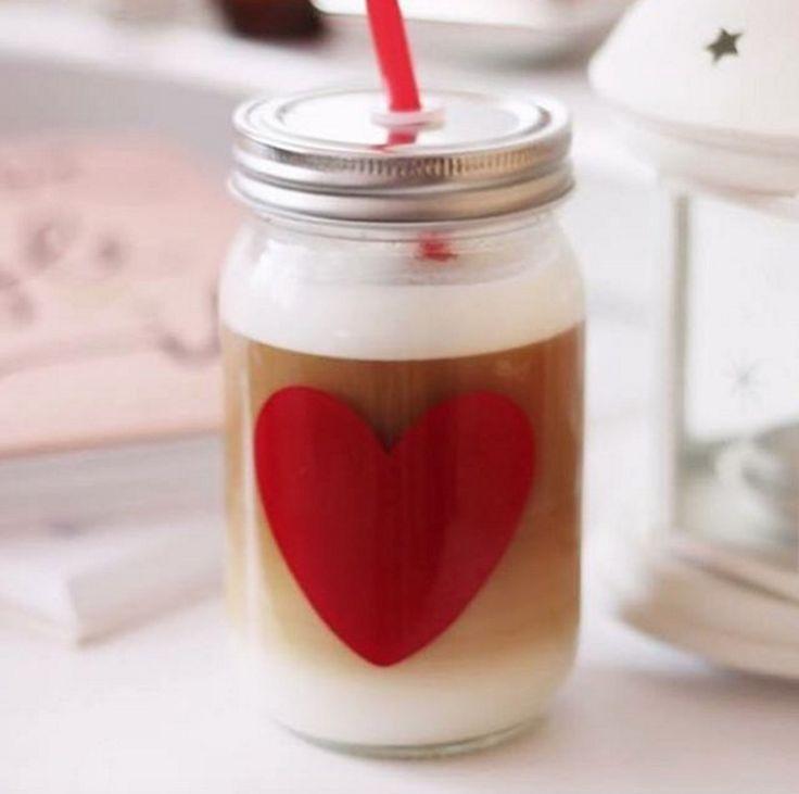 Iced coffee love <3 Image credit @blessthemesspl #tigerstores #tigercoffee #coffee #coffeeaddict #jamjar