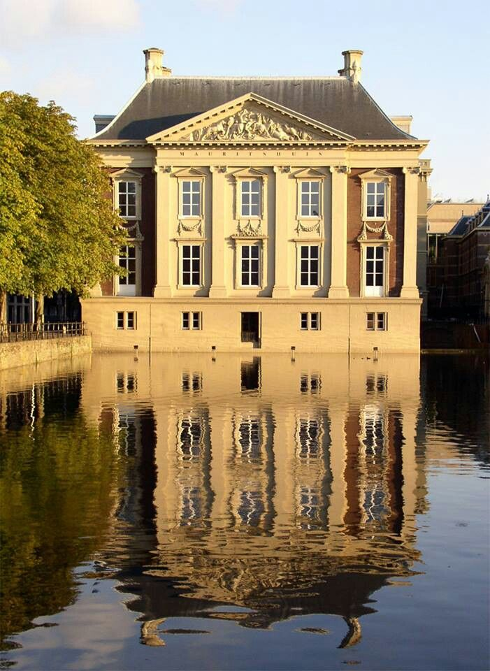 Mauritshuis, Den Haag, The Netherlands, great little art museum with the Girl With the Pearl Earring and Anatomy Lesson of Dr. Nicolaes Tulp among other famous paintings.