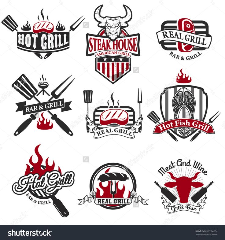 stock-vector-set-of-grill-bar-labels-logos-and-badges-templates-steak-house-label-grill-restaurant-label-and-357492377.jpg (1500×1600)