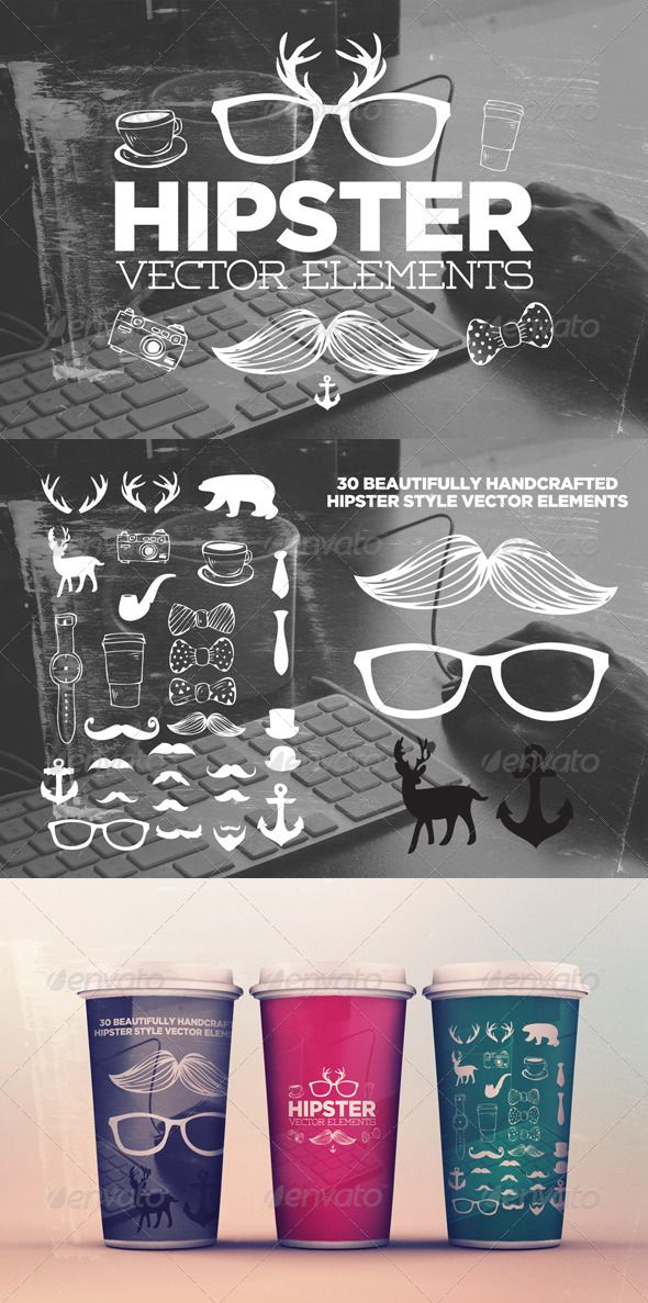 Realistic Graphic DOWNLOAD (.ai, .psd) :: http://vector-graphic.de/pinterest-itmid-1008511731i.html ... 30 Hipster Elements ...  camera, coffee, deer, handcrafted, handsketched, hipster, hipsters, moustache, mustache, retro, vector, vectors, vintage  ... Realistic Photo Graphic Print Obejct Business Web Elements Illustration Design Templates ... DOWNLOAD :: http://vector-graphic.de/pinterest-itmid-1008511731i.html