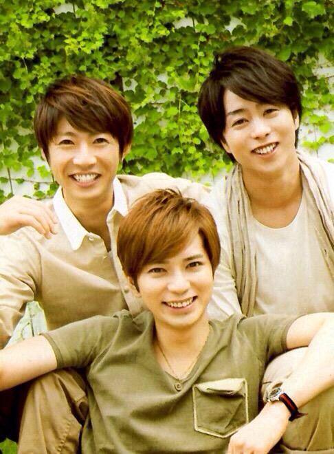 Aiba-chan, MatsuJun & Sho-chan