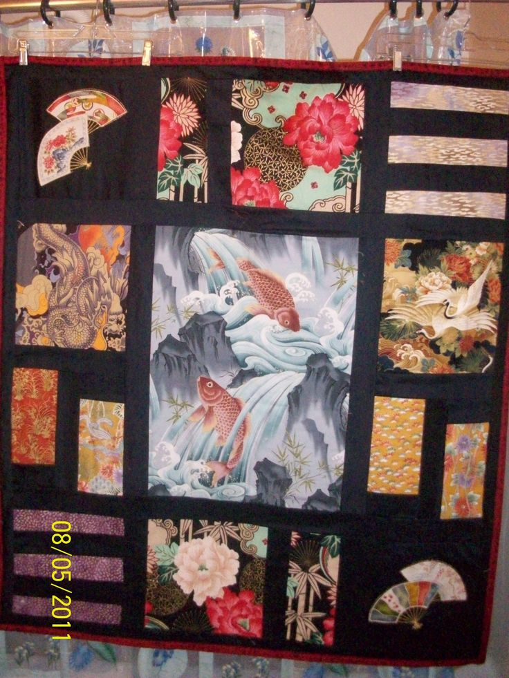 An Example Of Japanese Style Quilts Quilting Inspiration