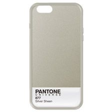 CRYING I NEED THIS SO MUCH   PANTONE UNIVERSE iPhone 6 Cases in Silver Sheen - PANTONE 877 C