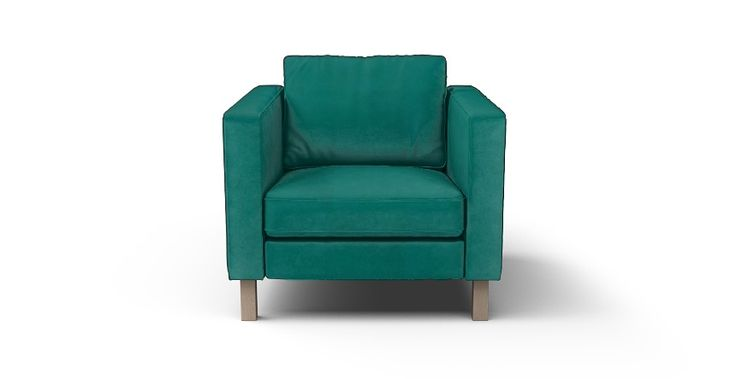 Karlstad Armchair Cover - Beautiful Custom Slipcovers   Comfort Works