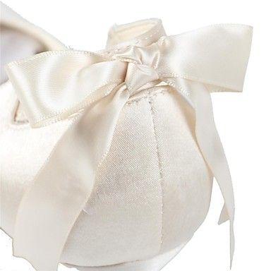 Γάμος Παπούτσια - Γυναικεία - Με Τακούνι / Στρογγυλή Μύτη - Γόβες - Γάμος -Μαύρο / Μπλε / Κίτρινο / Ροζ / Μωβ / Κόκκινο / Ιβουάρ / Άσπρο – EUR € 33.24