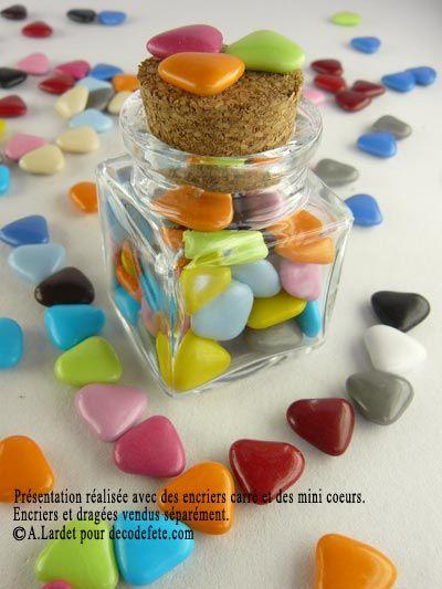 Poétiques, les petits encriers carrés à personnaliser ! #boite #dragees http://www.decodefete.com/encrier-carre-p-512.html