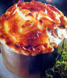 Ricette e Segreti in Cucina : Sformato di gamberetti in crosta