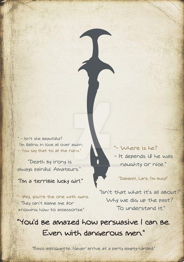 Tomb Raider 7 quotes by blackrainbowwwcn