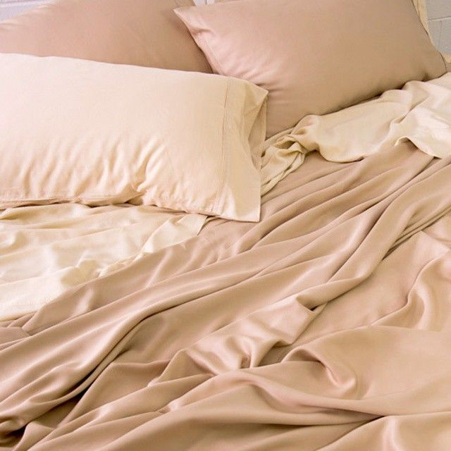 Gorgeous Natural Bamboo Sheets Our Light Latte And Sand Colours