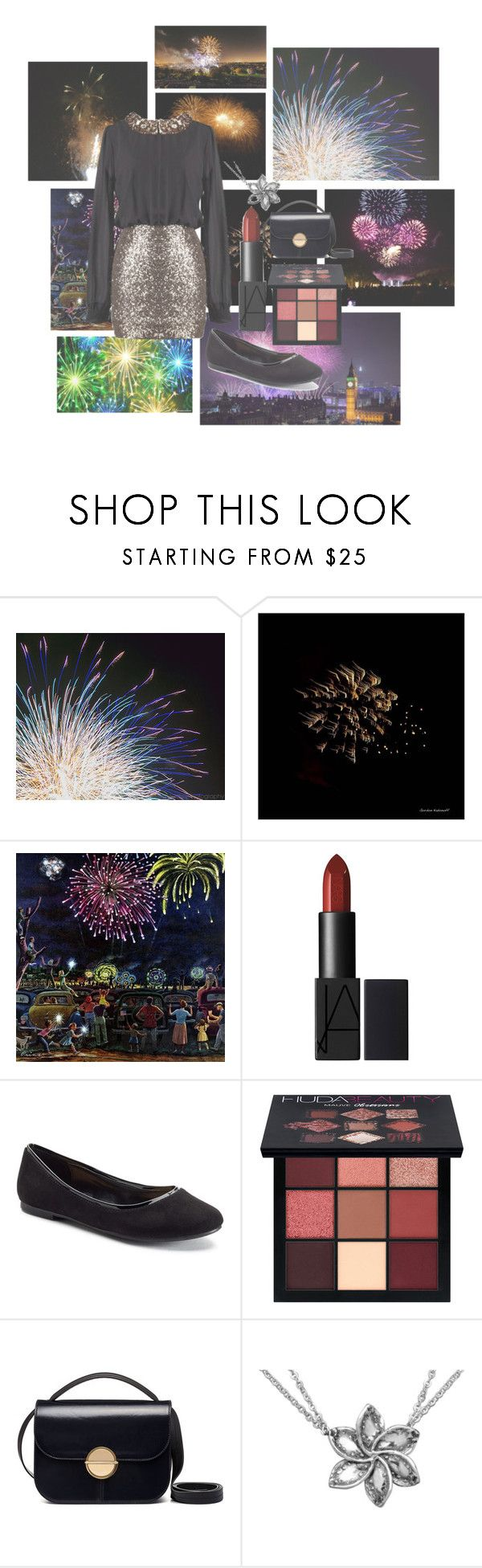 """""""HAPPY NEW YEAR! 🎉🎆🎇✨💫"""" by fashionistax23 ❤ liked on Polyvore featuring Gordon Kadonoff, Marmont Hill, LC Lauren Conrad, Huda Beauty and Marni"""