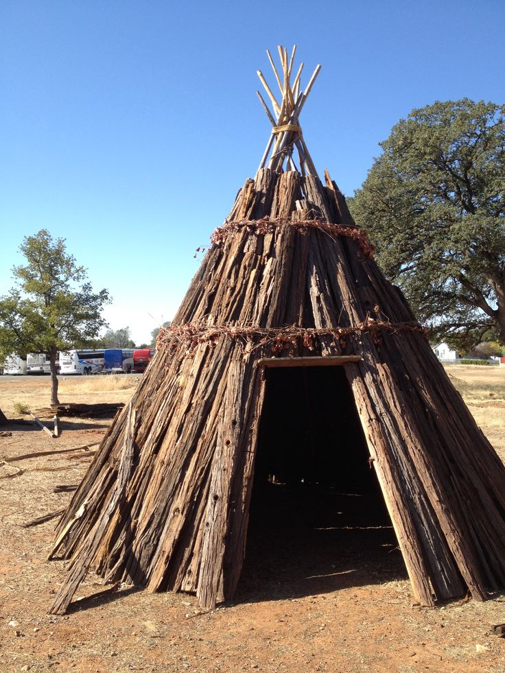 Maidu House oroville | CA Native American Indian | Pinterest