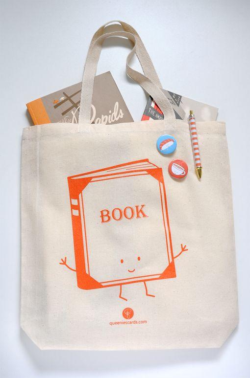 Book Bag by queeniescards.com! :)