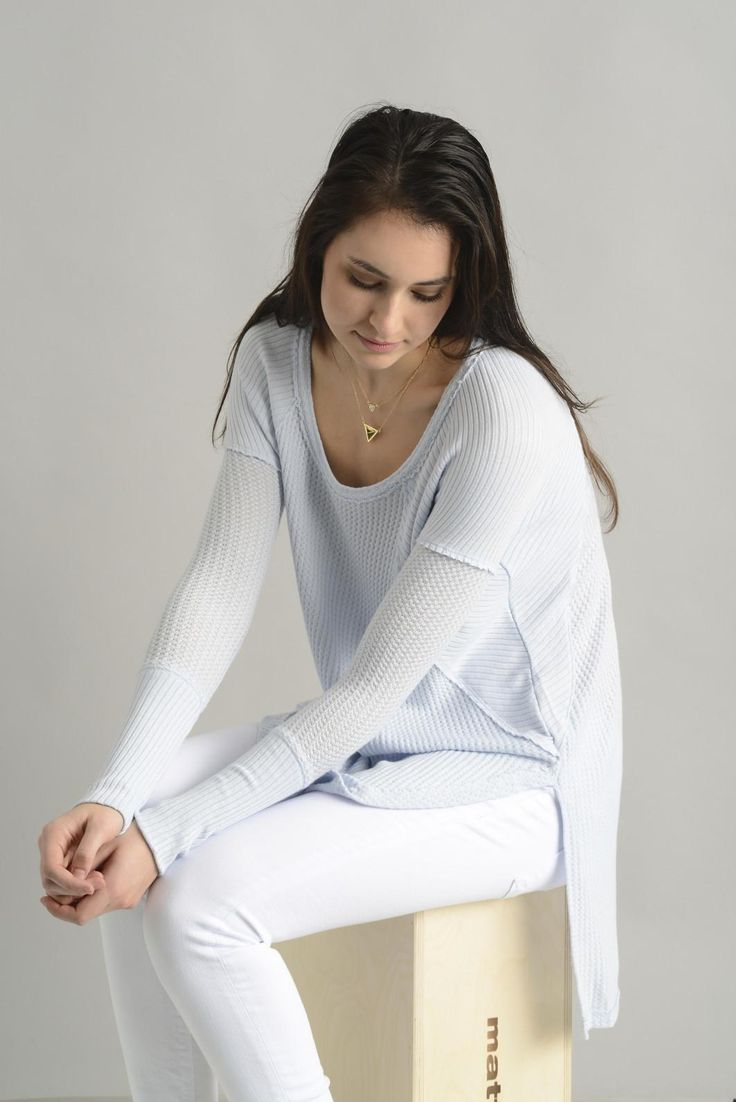 Free People Drippy Ventura Thermal Shirt | South Moon Under