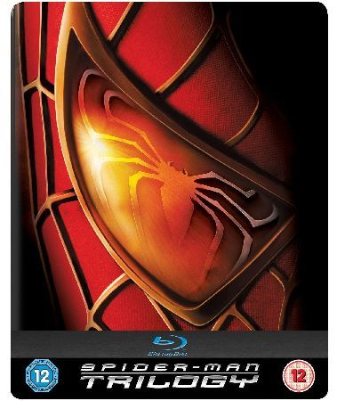 Spiderman Trilogy Steelbook SpiderMan 1 2 and 3 all in an exclusive steelbook case... (Barcode EAN=5050629688511) http://www.MightGet.com/january-2017-12/spiderman-trilogy-steelbook.asp