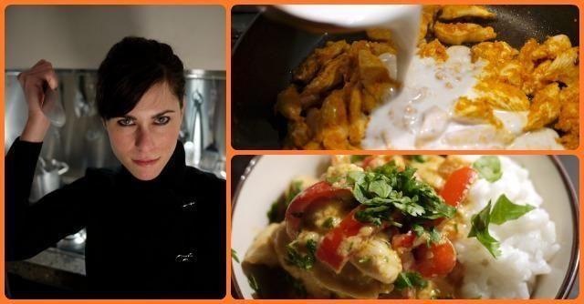 Curry rosso di pollo e riso thai al cocco, la ricetta di Alessia Vicari - Il Fatto Quotidiano