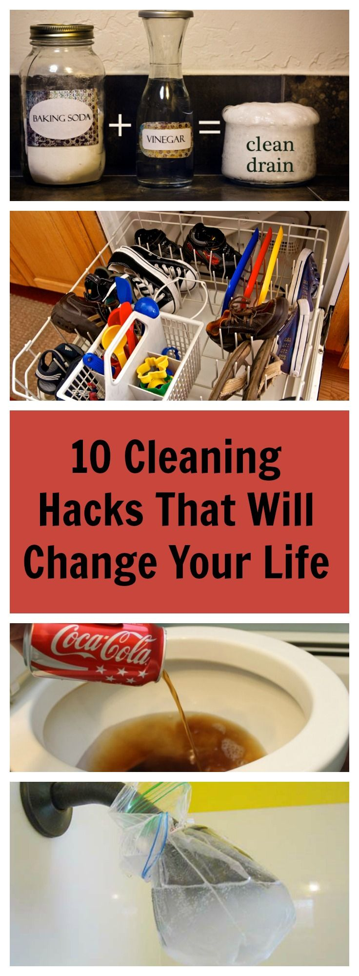 We dream of having a clean house but who dreams of actually doing the cleaning? Try out these 10 house cleaning tricks and make your sparkle in no time!
