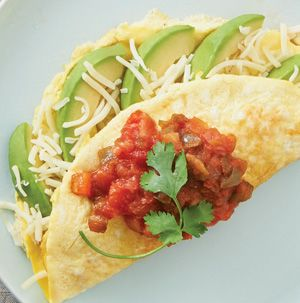 Serving omelets for Easter breakfast or brunch? Be sure to add Avocado Omelets to the mix. Serve with or without the hot sauce and salsa.
