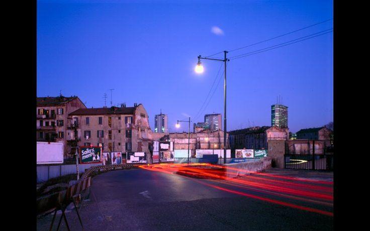 Nella foto di Gabriele Basilico, il quartiere Isola nel 1982 -