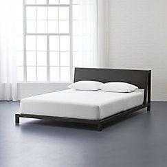 View larger image of alpine gunmetal king bed (mattress sold separately).