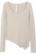 Shop on-sale Wilt Asymmetric slub-cotton jersey top. Browse other discount designer tops & more on The Most Fashionable Fashion Outlet, THE OUTNET.COM.