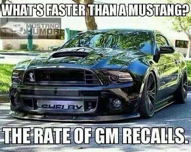 Mustang humor..  lol..